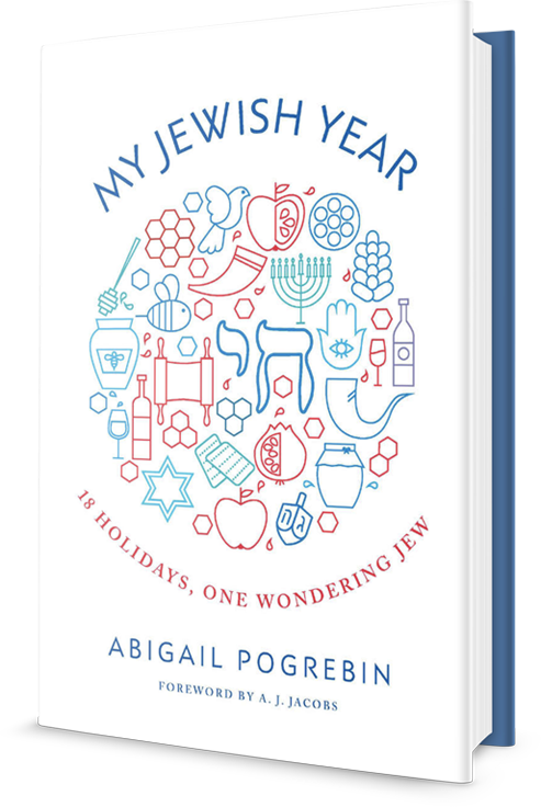 3D cover of My Jewish Year by Abigail Pogrebin